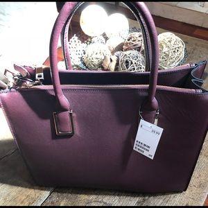 NWT H&M Maroon Bucket bag
